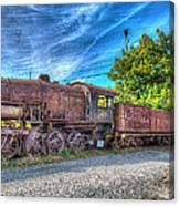 Steam Locomotive No 1151 Norfolk And Western Class M2c Canvas Print