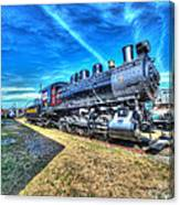 Steam Locomotive No 4 Virginian Class Sa  Canvas Print
