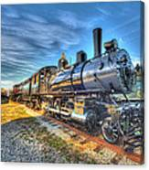 Steam Locomotive No 6 Norfolk And Western Class G-1 Canvas Print