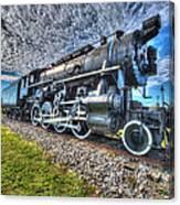 Steam Locomotive No 606 Canvas Print