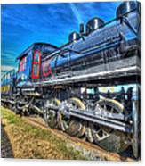Steam Locomotive Virginian Class Sa No 4 Canvas Print