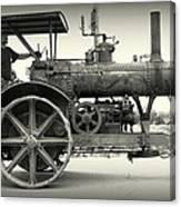Steam Power Tractor Canvas Print