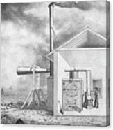 Steam-powered Foghorn Canvas Print
