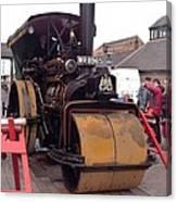 Steam Roller Canvas Print