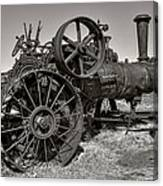 Steam Tractor - Molson Ghost Town Canvas Print