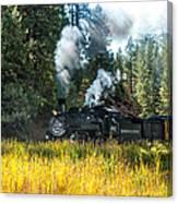 Steam Train 2 Canvas Print