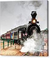Steam Train 45 Canvas Print