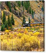 Steam Train 5 Canvas Print