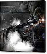 Steam Train Canvas Print