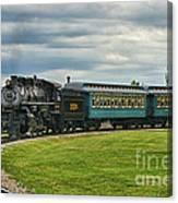 Steam Train Tr3627-13 Canvas Print