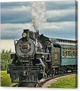 Steam Trains Tr3629-13 Canvas Print