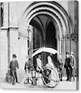 Steam Tricycle, 1888 Canvas Print