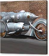 Steam Turbine Cycle Canvas Print