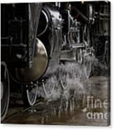 Steam Wheels Canvas Print