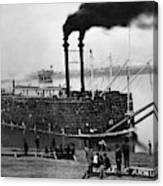 Steamboat, C1900 Canvas Print