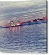 Steamboat Cruise Canvas Print