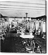 Steamer Interior, C1867 Canvas Print