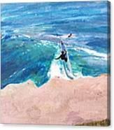 Steamer Lane Canvas Print