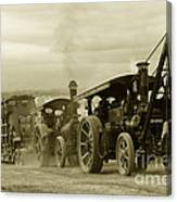 Steaming Power  Canvas Print