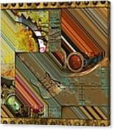 Steampunk Abstract Canvas Print