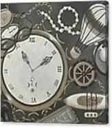 Steampunk Adventure Canvas Print