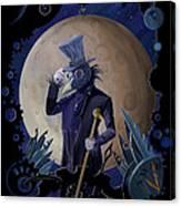 Steampunk Crownman Canvas Print
