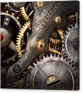 Steampunk - Gears - Horology Canvas Print