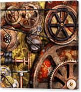 Steampunk - Gears - Inner Workings Canvas Print