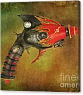 Steampunk - Gun - Electric Raygun Canvas Print