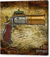 Steampunk - Gun - The Ladies Gun Canvas Print