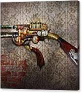 Steampunk - Gun - The Sidearm Canvas Print
