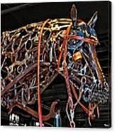 Steampunk Horse Canvas Print