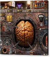 Steampunk - Information Overload Canvas Print