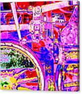 Steampunk Iron Horse #4 A Canvas Print