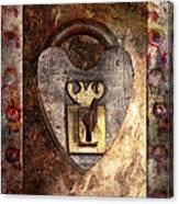 Steampunk - Locksmith - The Key To My Heart Canvas Print