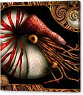 Steampunk - Nautilus - Coming Out Of Your Shell Canvas Print