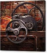Steampunk - No 10 Canvas Print