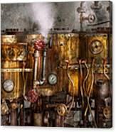 Steampunk - Plumbing - Distilation Apparatus  Canvas Print