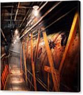 Steampunk - Plumbing - The Hallway Canvas Print