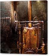 Steampunk - Powering The Modern Home Canvas Print