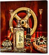 Steampunk - Spare Gears - Mechanical Canvas Print