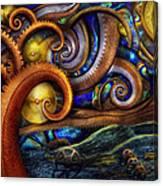 Steampunk - Starry Night Canvas Print