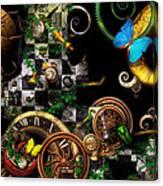 Steampunk - Surreal - Mind Games Canvas Print