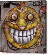 Steampunk - The Joy Of Technology Canvas Print