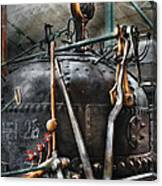 Steampunk - The Steam Engine Canvas Print
