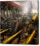 Steampunk - War - We Are Ready Canvas Print
