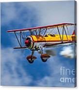 Stearman Biplane Canvas Print