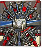Stearman Engine Canvas Print