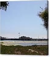 Stearns Wharf Santa Barbara Canvas Print