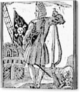 Stede Bonnet (c1688-1718) Canvas Print